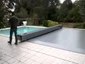Couverture de sécurité piscine automatique