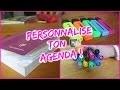 Back to school I Personnalise ton agenda ! I 2015-2016