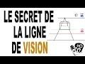 Dessin en PERSPECTIVE: quel est le secret de la ligne de vision?