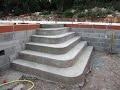 Construire un Escalier en béton de type (Pyramidal)
