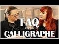 Vos Questions à Isabelle Allou - calligraphe enlumineresse