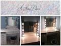 DIY  Vanity Mirror / Miroir de star / Miroir pour coiffeuse