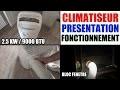 climatiseur mobile blyss castorama présentation fonctionnement performance test avis