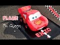 Gâteau Cars - Flash Mcqueen cake - Cake Design