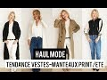 Guide Tendances Vestes et Manteaux femme Printemps été 2018