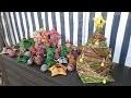 Rout'Art Tuto Eco-Vannerie : Sapin de Noël