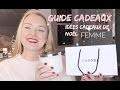 Suggestions de cadeaux pour Femme - GUIDE CADEAUX | NATALIETV ♡ Beauté 40 ans+