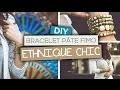 DIY Bijoux // Fabriquer un bracelet ethnique chic en pâte Fimo