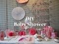 Baby Shower fille DIY