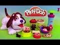Play Doh Puppies Playset Pâte à modeler Adorables Chiots Perrito Juguetón
