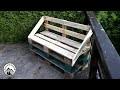 Nouveau - Comment fabriquer un banc en palette très facilement !