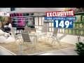 Mobilier de jardin Rona - Exclusivité Carrefour