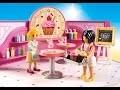 Playmobil 2018 - GALERIE MARCHANDE - EINKAUFSPASSAGE  - garderie playmobil  - restaurant
