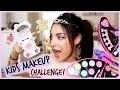 KIDS MAKEUP CHALLENGE⎮ Je teste le maquillage d'enfants !