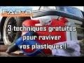 3 méthodes pour rénover les plastiques gratuitement !