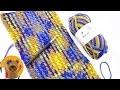 """Planned Color Pooling"" avec de la laine multicolore de Myboshi | Myboshi tuto francais"