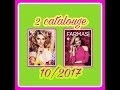 NEW 2 catalouge pour mois octobre Farmasi et vinci