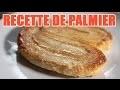 Faire un palmier pâtisserie - Gâteau avec pate feuilletee sucree