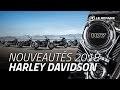 Nouveautés Harley 2018