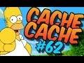 CACHE CACHE SUR MINECRAFT ! MAP SIMPSONS 3 ! EPISODE 62 !