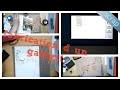 Fabrication d'un gabarit avec la scan'n'cut et réalisation d'une page