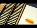 Test et présentation de matériel pour dessiner au pastel : Coffret bois de 50 pastels Sennelier !