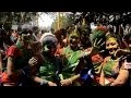 Inde: le Holi, fête des couleurs pour l'arrivée du printemps
