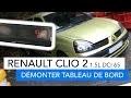 Renault Clio 2 - Démonter le tableau de bord pour changer les ampoules de l'afficheur