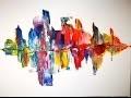 Peinture à l'huile au couteau - Speed Painting
