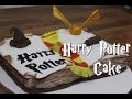 RECETTE GATEAU HARRY POTTER | HARRY POTTER CAKE | CAKE DESIGN