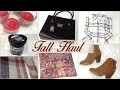 FALL HAUL 2015 I HAUL D'AUTOMNE 2015 : Pimkie, H&M, Lush, JustFab... France + CONCOURS / GIVEAWAY