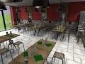 Création, décoration et aménagement - restaurant pizzeria de 70m²