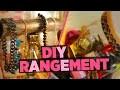 DIY Rangements MakeUp & Bijoux