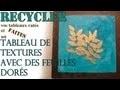 Recycler vos tableaux rate�s et faites un tableau de textures