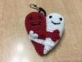 Tuto amigurumi coeur entrelace� au crochet