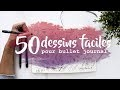 Tuto bujo : 50 dessins faciles (Bullet journal français)