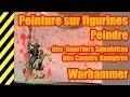 TUTO - Peinture sur figurines - Guerriers Squelettes - Warhammer