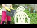 Comment nettoyer efficacement le mobilier de jardin