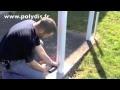 Réalisation clôture PVC horizontale.m4v