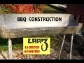 Fabrication barbecue / BBQ Construction (Part.1)