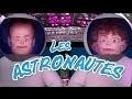 Les Astronautes, joyeux anniversaire humour, carte anniversaire animée