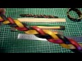 Réalisation - Bracelet cuir tressage mystère