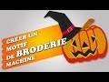 Broderie Machine - Créer un motif de broderie machine - Méthode 1