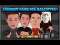 TUTO: COMMENT FAIRE DES MASCOTTES: LES CONDITIONS!