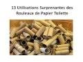 DIY 13 Utilisations Surprenantes des Rouleaux de Papier Toilette