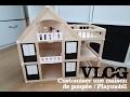 [TITISSE VLOG] CREATIF - Customiser une maison en bois pour poupées et Playmobil
