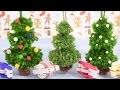 Sapin de Noël en pompons - Bricolage déco pour petits et grands