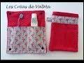 Tuto Couture Etui Range Brosse à Dents nomade pour tissus à motifs / endroit