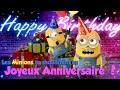 Les Minions te souhaitent un Joyeux Anniversaire (2)