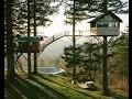 Une maison de rêve avec un Skatepark au milieu de la nature
